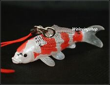 The OSAKA KOI FARM Mini Figure Collection New Japanese Fish HIKARIMOYO Keychain