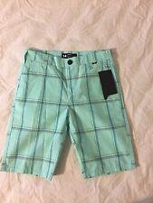 "Boys Hurley Shorts, Size 14, NWT! Artisan Teal, 9.5"" Inseam"