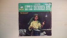 Vintage LITTLE DRUMMER BOY Peter Pan Records Four Favorite Songs 45rpm EP 60s