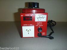 0-260VAC Variable Laboratory Autotransformer (VARIAC) POWERTECH 2 amp WARRANTY!