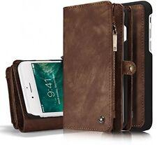 Caso roreikes Iphone 7 Plus (5.5 pulgadas), Estuche tipo Billetera de múltiples funciones 2 en 1 caso 7