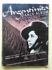 La Argentinita Dance Album Sheet Music book