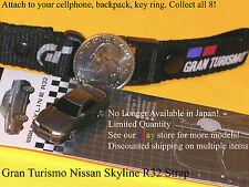 Gran Turismo NISSAN SKYLINE R32 Strap Key Hldr by RAZO CarMate SHIPS FREE!!