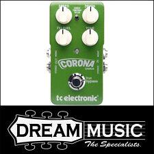 TC Electronic Corona Chorus Stereo Guitar Effects Pedal - Brand New!