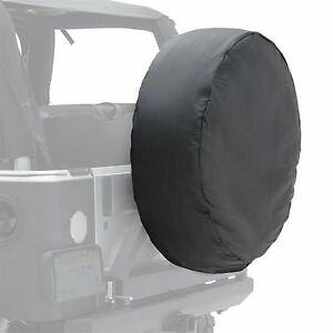 """Smittybilt 30-32"""" Spare Tire Cover, Black Vinyl - 773201"""