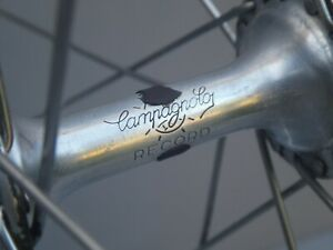 Campagnolo Record Mavic MA2 Front Wheel Excellent Condition - Vintage Bicycle