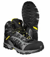 Amblers FS36 Safety S3 Lightweight Black Steel Toe Cap Mens Work Boots UK7-12