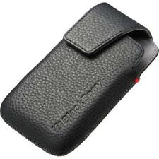 Genuine BlackBerry Bold 9790 Leather Holster Pouch Case Black ACC-41815-201