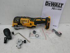 DEWALT DCS355 XR 18V OSCILLATING MULTI TOOL BARE UNIT + FITMENTS