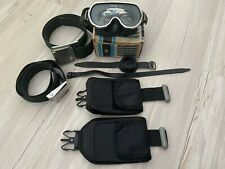 Vintage Scubapro Goggles Mask Tempered -4.5 Scuba Diving Weight Belt Accessories