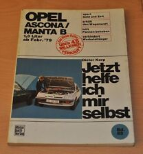 OPEL Ascona Manta B 1,3l ab 1979 Handbuch Buch Reparaturanleitung JHIMS 83