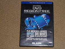 SONY PLAYSTATION 2 PS2 XPLODER DVD REGION FREE Multi importazione riproduzioni video in Scatola