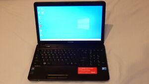 Toshiba Satellite C650 - Core 2 Duo T9600, 4GB RAM, 256GB SSD, Windows 10