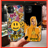 Luxury Brand Drew House Justin Bieber Fundas Estuche Cover Case For iPhone