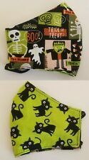 Womens REVERSIBLE WASHABLE  Hallowen  Witches HAND CRAFTED NEXT DAY SHIPPING!