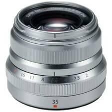 Fujifilm Fujinon XF 35mm f/2 R WR Lens - Silver