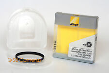 NIKON 52MM NC UV FILTER WITH KEEPER AND BOX MINT