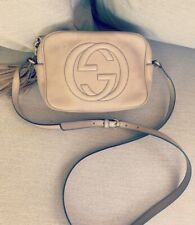 Authentic Gucci Soho Small Leather Disco Camera Bag