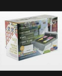 AccuQuilt GO! Big Electric Fabric Cutter Starter Set with GO! Big Electric