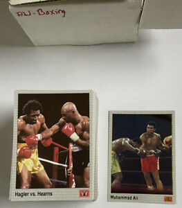 1991 AW ALL WORLD BOXING SET 1-149 GOLD ALI CARD #69