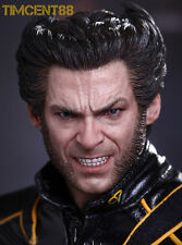 Hot Toys X-Men Last Stand 1/6 Wolverine Hugh Jackson Marvel Figure Box Imperfect