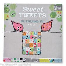 Sweet Tweets Simple Points Capricieux Oiseaux Couture Livre