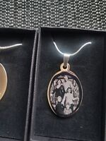 Personalised Photo & text engraved LOTS OF variations pendents -Mothers Day Gift