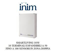 inim centrale antifurto 1050, 50 sensori normale o 100 sensori con zona doppia