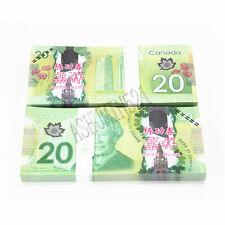 Canada $20 Money props Money bills Banknotes 100pcs