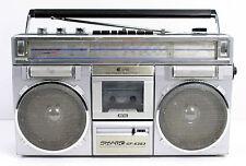 SHARP GF-6363 APSS METAL Ghettoblaster Radiorecorder Bastler