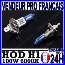 AMPOULE PLASMA HOD H1 100W LAMPE HALOGENE FEU EFFET XENON BLANC BLANCHE 6000K 12