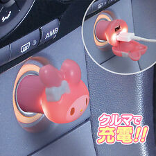 SANRIO Hello Kitty From Japan My Melody Cute Cell Phone USB Socket Car Accessory