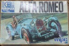 Vintage MPC 2-1015 European Racing série 1933 ALFA ROMEO ONU construit 1:32nd échelle
