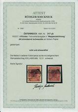 Gestempelte Briefmarken österreichische (bis 1945) als Einzelmarke