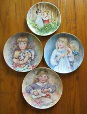 4 Wedgwood collectors plates Mary Vickers limited edition bone china Bradex