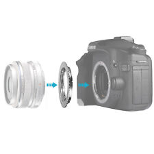 Neewer Lens Mount Adapter for Olympus OM Zuiko Lens to Canon EOS EF Camera Body