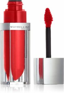 Maybelline lipstain lip gloss  makeup Lip Colour Signature Scarlet 020