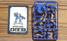 40K Space Marine Heroes Brother Garus w/ Bolter & Bolt Pistol on Sprue