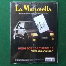 LA MANOVELLA n.5 Maggio 2014 PEUGEOT 205 TURBO RALLY VESPA Rivista/Magazine Auto