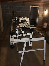 quilting frame and machine