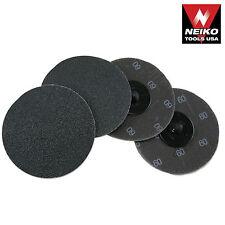 Neiko 11182a 10 Piece 3 60 Grit Silicon Carbide Sanding Discs New