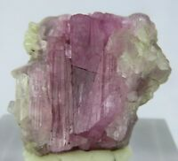 40 CARATS PINK TOURMALINE WITH MICA & FELDSPAR  AFGHANISTAN, A-83