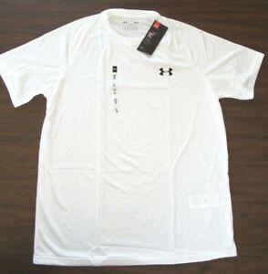 Under Armour Men's Tech Short Sleeve T-Shirt  1228539  White   Sm - 4XL