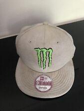 Monster Energy Athlete Only New Era Cap Hat Snapback