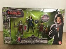 Chronicles of Narnia Figure 3-Pack Heros of Narnia Prince Caspian Jakks Pacific!