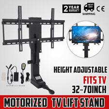 Motorized TV Lift Mount Bracket For 32-70 TVs Electric Height Adjustable