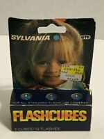 Sylvania FlashCubes Flash Cubes 3- Pack (12 Total Flashes) New
