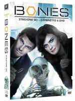 Bones - Serie Tv - Stagione 6 - Cofanetto Con 6 Dvd - Nuovo Sigillato