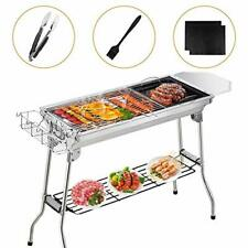 Gifort BBQ Charcoal Grill Smoker Barbecue Folding Portable for Outdoor Cooking
