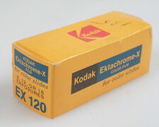 KODAK EKTACHROME X 120 FILM IN UNOPENED BOX